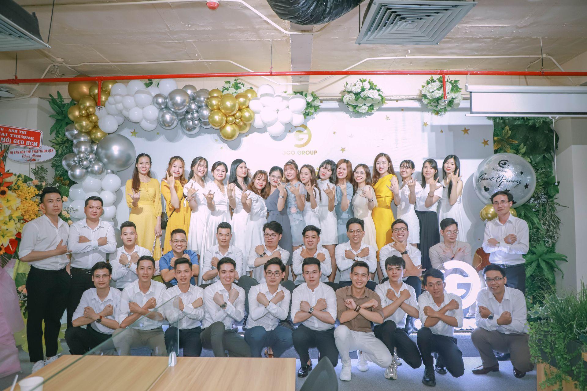 GCO Hồ Chí Minh – Tưng bừng khai trương văn phòng mới!