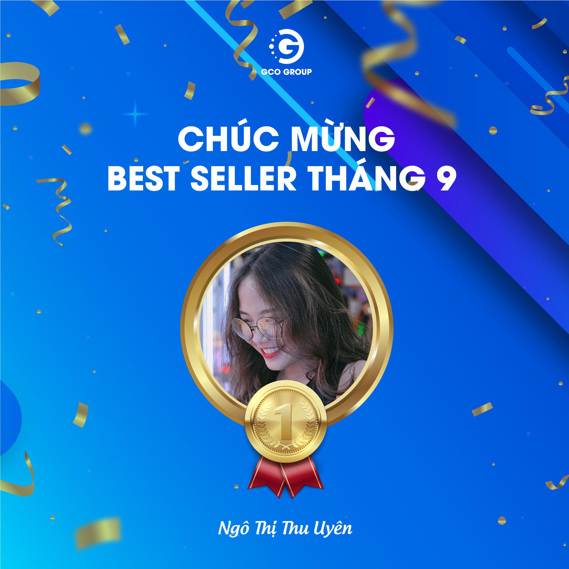 Ngô Thị Thu Uyên – Cô gái Best Seller trẻ tuổi nhất của GCO Group.