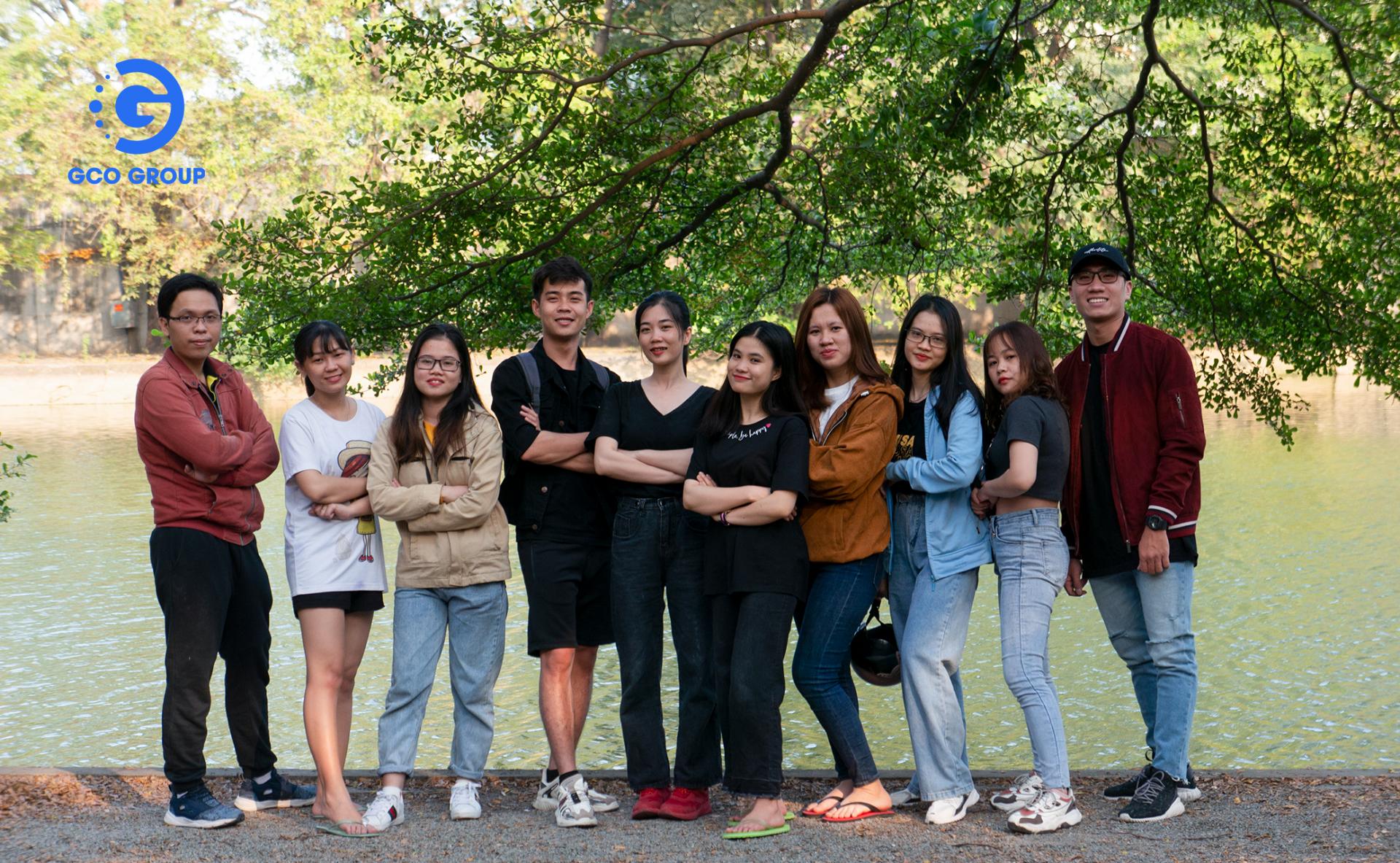 Team building của GCOers chi nhánh Hồ Chí Minh